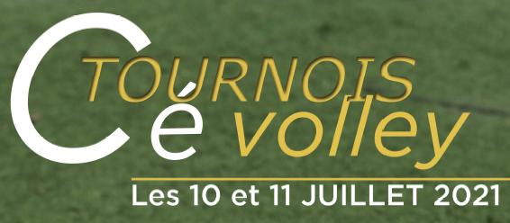 Tournoi Cé Volley week-end du 10 et 11 juillet
